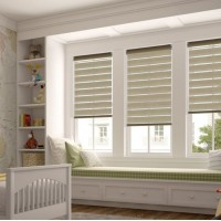 Beam Elm Day Night Roller Blind