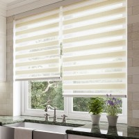 Entwine Cream Day Night Roller Blind