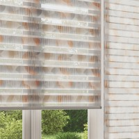 Vortex Amber Day Night Roller Blind