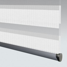 Entwine White - Day Night Roller Blind
