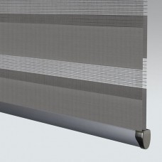 Essence Mid Grey - Day Night Roller Blind