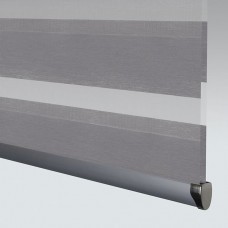 Poise Concrete - Day Night Roller Blind
