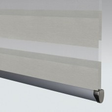 Poise Grey - Day Night Roller Blind