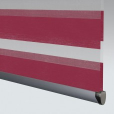 Poise Redcurrant - Day Night Roller Blind