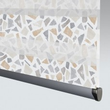 Terrazzo Tan - Day Night Roller Blind