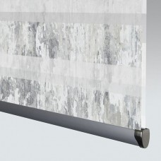 Venture Smoke - Day Night Roller Blind