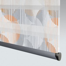 Vortex Amber - Day Night Roller Blind