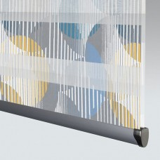Vortex Midnight - Day Night Roller Blind