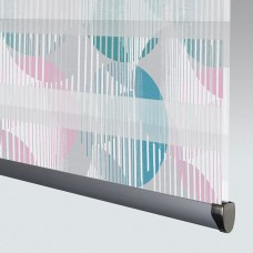 Vortex Teal - Day Night Roller Blind